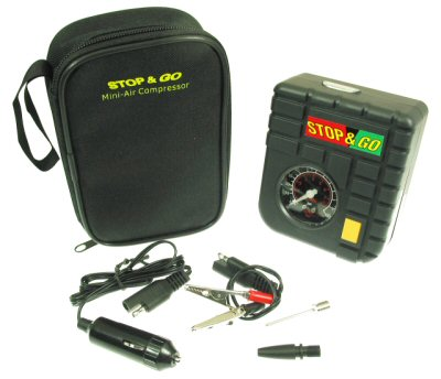 Stop & Go - Portable Mini-Air Compressor